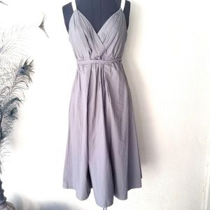 Converse One Star Gathered Sleeveless Dress